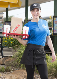Photo of Sonic Drive-In carhop